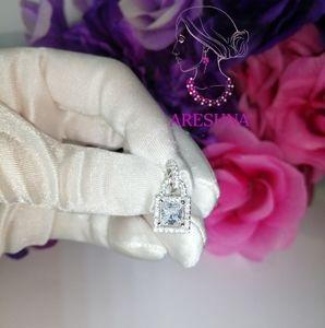 Areshna Jewelry - 1ct Lab Diamond Luxury Princess Cut